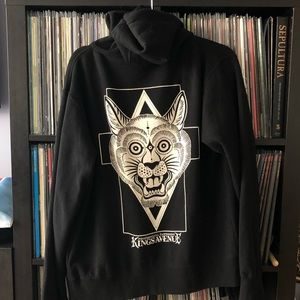 Sweaters - TATTOO ART CAT HOODIE